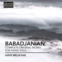 BABADJANIAN Complete Original Works for Piano Solo