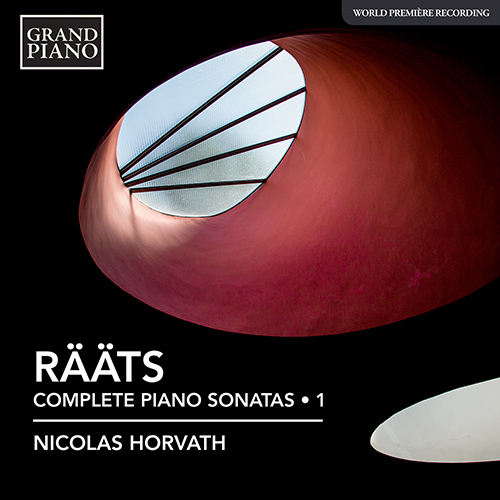 First volume of Nicolas' new cycle of the complete piano sonatas by Estonian composer Jaan Rääts