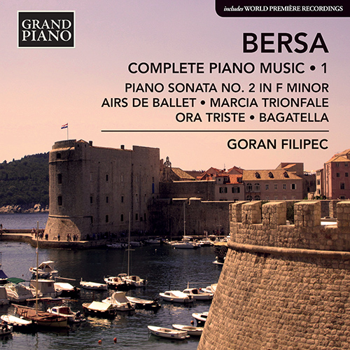 Blagoje Bersa Piano Music album cover