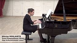 ROSLAVETS:TroisCompositions1914(ShortVersion)