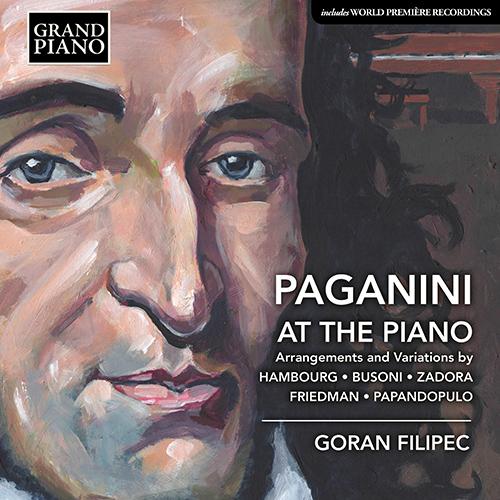 Piano Recital: Filipec, Goran - HAMBOURG, M. / BUSONI, F. / ZADORA, M. / FRIEDMAN, I. / PAPANDOPULO, B. (Paganini at the Piano)